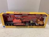 Kenworth W900 1/32 Diecast Tractor/ Trailer Construction Series