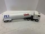 Ertl Pet Milk International Tractor Trailer, No Box