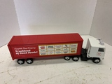 Ertl International Cabover Tractor With Campbell Soup Co. Trailer, No Box