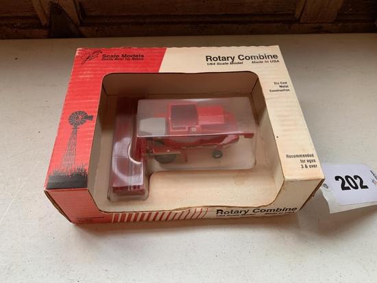 Massey 8590 Rotary Combine in Box