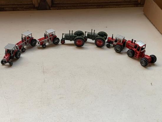 1/64 Scale Massey Harris & Ferguson Toys