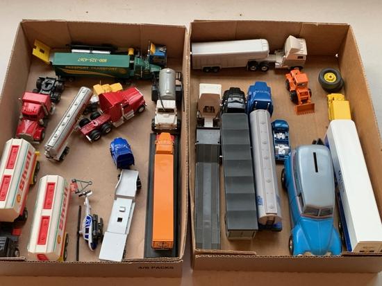 1/64 Scale Semi Tractors & Trailers