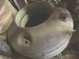 2 Massey Pony Wheel Weights