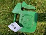 John Deere Compact Utility Weight w/ Logo