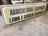 Agricultural Equipment Lawn & Garden Lighted Sign