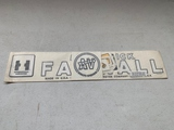 Farmall Super AV Culti-Vision Decals
