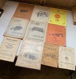 Massey Harris Implement Manuals