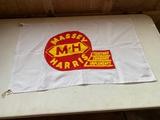 Massey Harris Flag - Tractors, Combines,