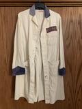 Massey Harris Vintage White Shop Coat