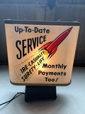 Insurance Promotional Lighted Rotating Sign