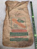 Vintage Burlap DeKalb Seed Corn Bag