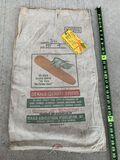 DeKalb Seed Corn Sack With 1947 Tag