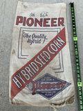 Pioneer Seed Corn Bag Sack