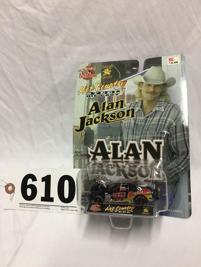 10 year Racing Champions Alan Jackson 1:64 scale collectible car