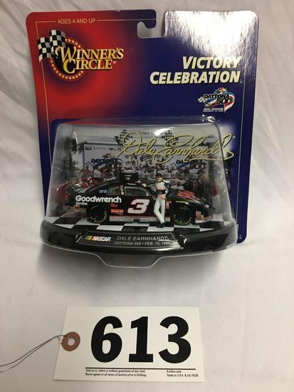 Dale Earnhardt Winners Circle die-cast car dated February 15, 1998; 1:43 scale