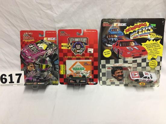 Various 1:64 scale NASCAR collectibles