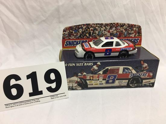 Snickers collectible NASCAR car with collectible box