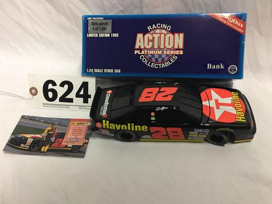 Action platinum series racing collectible 1:24 scale bank- Dale Jarrett 1 of 7,992 with box