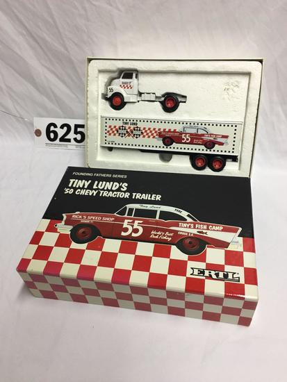 ERTL Founding Fathers Series Tiny Lund's 1950 Chevy tractor trailer 1 of 4000