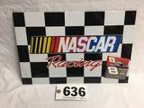 In NASCAR racing sign with 2 Dale Earnhardt Junior and magnets