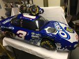 Dale Jr and Rust Wallace inflatables