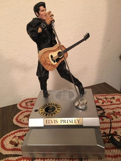 Limited edition Elvis Presley telephone officially licensed and authorized by Elvis Presley Ent Inc.