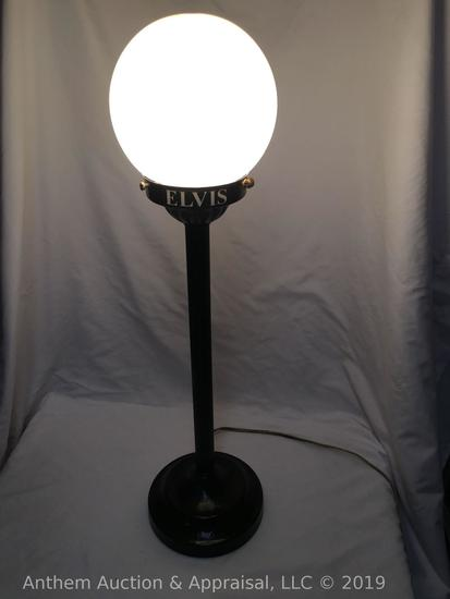 Elvis Presley street light lamp. Working Condition!