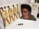 Elvis Presley Elvis remembered 3dimensional celebration book Elvis Presley Enterprises official logo