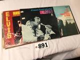 Set of 11 full-size Elvis Presley records