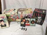 Elvis Presley lot of VHS tapes and cassette tapes