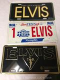 Lots of 3- Elvis Presley license plates