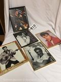 5 Elvis Presley photos with frames