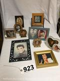 Lot of 10- Elvis Presley photos with frames