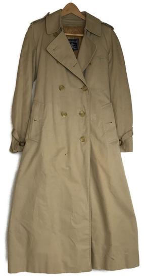 Vintage Burberry Woman's Trench Style Overcoat/Raincoat with Removable Lining
