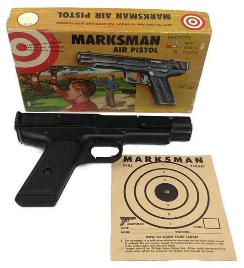 Vintage Marksman Air Pistol Model MP by Morton H. Harris in Original Box