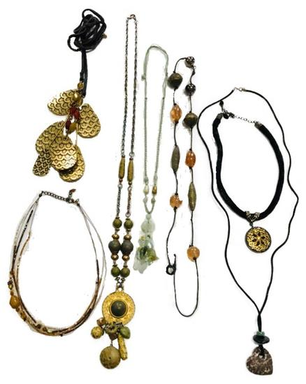Assorted Costume Necklace Jewelry