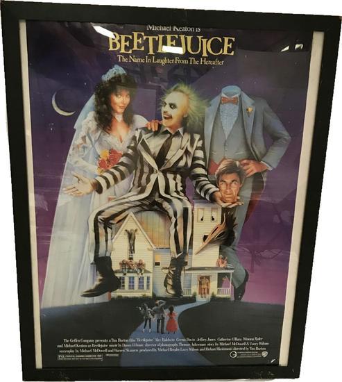 Vintage Beetlejuice Poster