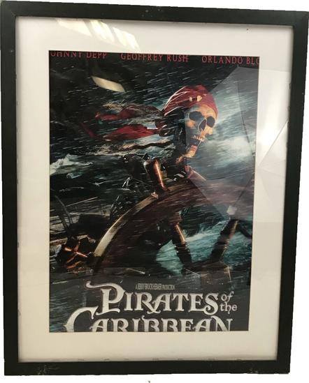 Pirates Of The Caribbean ORIGINAL Movie Poster