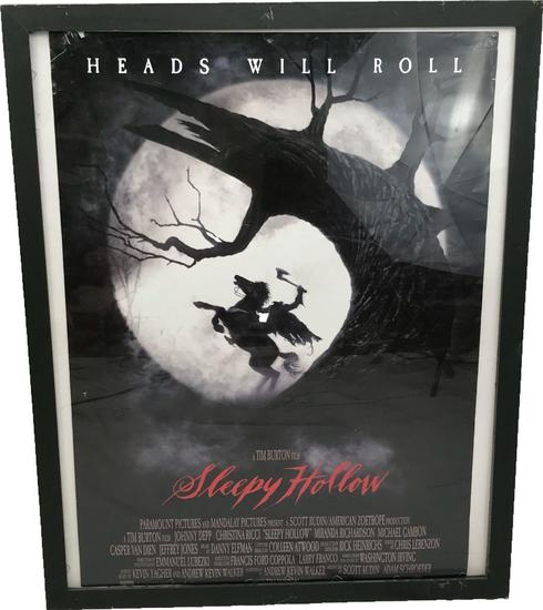 Original Sleepy Hollow Advance Movie Poster