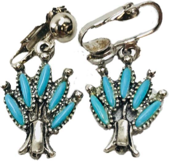 Pair of Vintage Turquoise Dangle Earrings