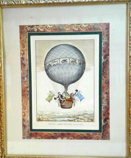 V. Cioni Balloon Framed Art