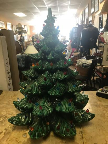 Vintage Ceramic Christmas Tree Auctions Online Proxibid
