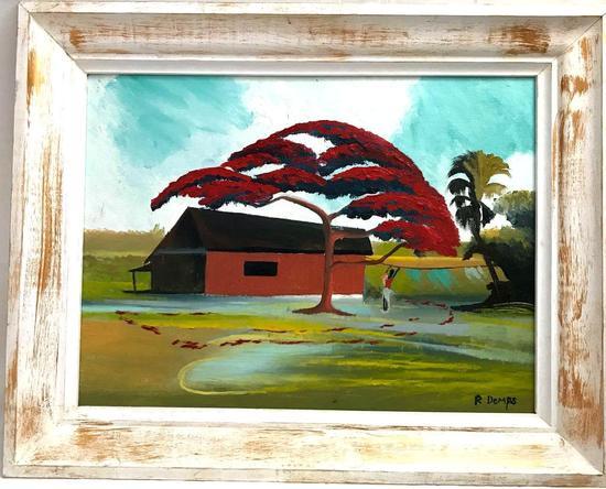 Florida Highwaymen Rodney Demps Original Painting