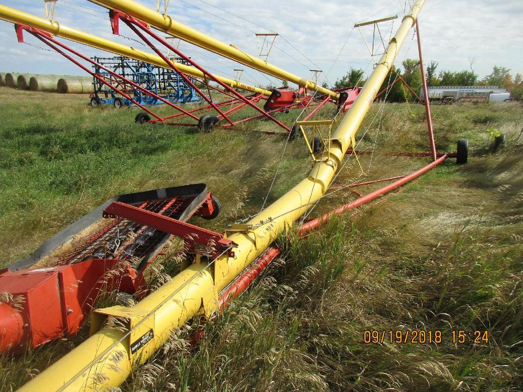 Insurance Claim: 2005 West Field MK-100-71 Grain Auger