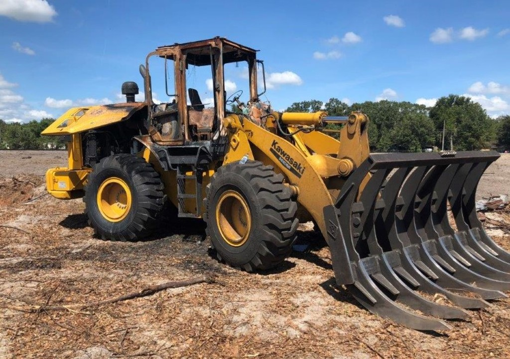 Insurance Claim: 2015 Kawasaki Wheel Loader