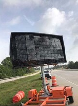 Insurance Claim: Wanco MSG 92 Electronic Road Sign