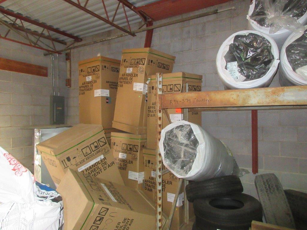 Insurance Claim: HVAC Supplies - Air Handler/Coil