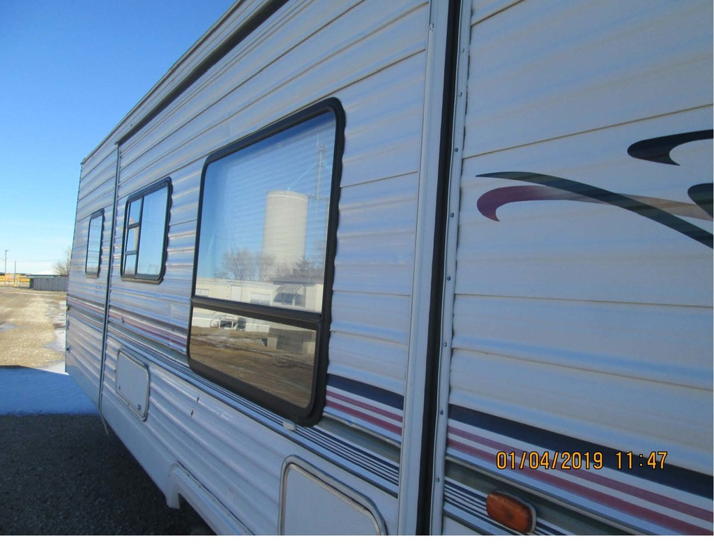 Insurance Claim: 2001 Forest River Wildwood Camper