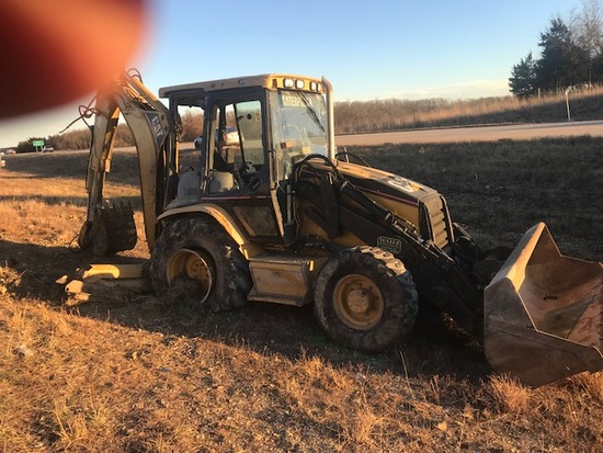 Insurance Claim: 2003 Caterpillar 420D Backhoe