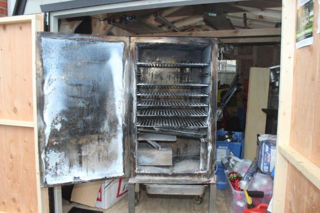 Insurance Claim: Indoor Self-Contained Smoker